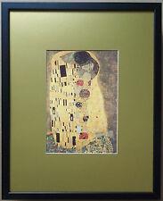 KLIMT-THE KISS encadrée-cadre 20''x16'', Klimt The Kiss Imprimé, Art Religieux