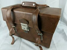 Vintage Marsand Camera Bag Hard Shell Carry Case Brown