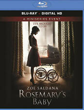 ROSEMARY'S BABY BLU-RAY 2014 MINISERIES EVENT Zoe Saldana BRAND NEW!!!! SEALED!!