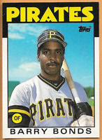 1986 Topps Traded Barry Bonds Card #11T Pittsburgh Pirates Gradable!!!