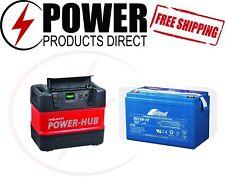 Projecta PH125 Portable Power Hub & Fullriver DC120-12B 12V 120Ah Battery