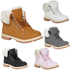New listing WOMENS WINTER ANKLE BOOTS LADIES ARMY COMBAT FLAT GRIP SOLE FUR LINED SHOES NEW