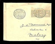 DUTCH INDIES 1929-5-27 CV  PM= BANDUNG 4 e PACIFIC CONGRES BANDOENG=  FINE