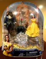 Disney Beauty And The Beast Belle Enchanted Rose Scene Live Action Film Playset