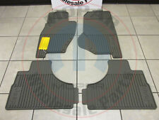 JEEP LIBERTY Dark Khaki Rubber Slush Floor Mats NEW OEM MOPAR