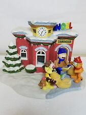 """The Courthouse"" Garfield'S Christmas Village Collection Danbury Mint 1995"