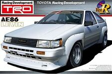 1/24 AOSHIMA 000270 TOYOTA TRD AE86 LEVIN N2  Plastic Model Car Kit