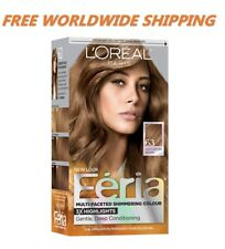 L'Oreal Feria Hair Color 63 Light Golden Brown Hairstyle Fashion FREE WORLD SHIP