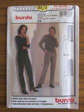 BURDA PATTERN - 8873 LADIES TROUSERS PANTS SLACKS  6 8 10 12 14 16 18 UNCUT