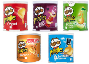 Pringles 40g Re-sealable Lid Pop & Go 5 Great Flavours Upto 60 Tubs from £6.33