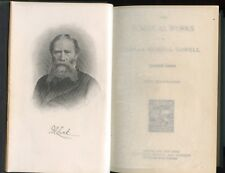James Russell Lowell  -  The Poetical Works 1890   VG+