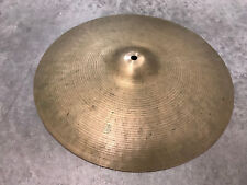 "Vintage Ufip Bravo 16"" Thin Crash Drum Cymbal"