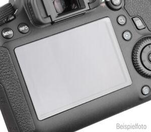 ayex LCD Displayschutz Echtglas selbsthaftend für Canon EOS 5D Mark III