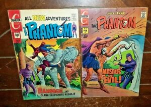 The Phantom #53 & #54, (1972/73, Charlton): Free Shipping!