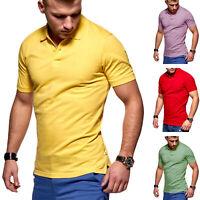 Jack & Jones Herren Poloshirt Polohemd Basic T-Shirt Shirt Top Kurzarmshirt