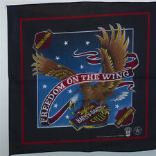 Harley-Davidson® Vintage Freedom On The Wing W/Eagle Rare Made In USA Bandana