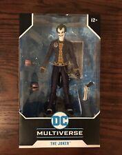 DC Multiverse McFarlane Toys Joker Batman Arkham Asylum Action Figure New!