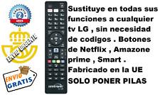 Mando a distancia sustituto TV LG 49UM7100PLB , 49UM7390PLC , 49UM7400PLB
