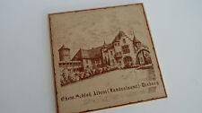 "Kachel Fliese Bild ""Schloß Albini - Landratsamt"" Dieburg 15 x 15 cm"