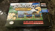 Super Nintendo SNES Joe & Mac Ultimate Caveman Factory Sealed NEW