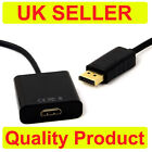 DP Displayport Male to HDMI Female Cable Converter Adapter for PC HP/DELL