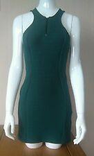 Topshop Dress / Pinafore **BNWT** SIZE 8, Racing Green, Cord Effect, *Beautiful*