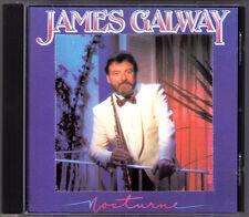 James GALWAY: NOCTURNE Chopin Debussy Field Boulanger Mouquet Hamlisch RCA CD 83
