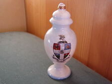 Luton Crest-Urna tipo VASO-blu tinti in Crested China