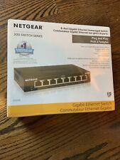NETGEAR GS308-300PAS 8-Port Gigabit Unmanaged New Sealed Network Switch