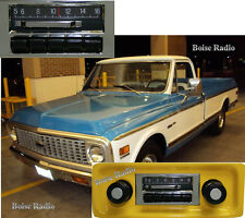NEW Slidebar Radio Stereo for 1967-1972 Chevy Truck By Custom Autosound