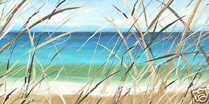 beach painting  ANDY BAKER australia abstract bald art COA