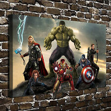 Avengers Movie Poster HD Print on Canvas Home Decor Paintings Wall Art Pictures