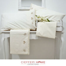 COMPLETO LENZUOLA MATRIMONIALE HEART - CIEFFEPI HOME COLLECTIONS