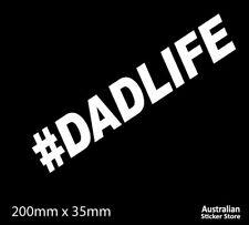 #DADLIFE CAR STICKER DECAL