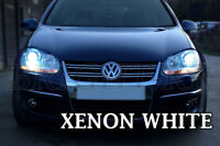 VW PASSAT GOLF MK5 SUPER XENON 7500K WHITE HEADLIGHT H7 LAMP LIGHT BULBS