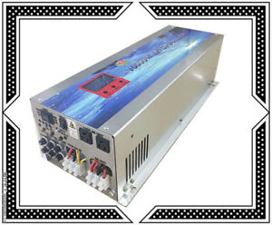 """40000W/10000W LF Pure Sine Wave Power Inverter 12VDC/110V AC 3.5""""LCD/UPS/Charger"""