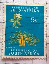 South Africa stamps - Baobab - 5c 1966