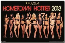 PINUP POSTER Maxim Magazine Hometown Hotties 2013