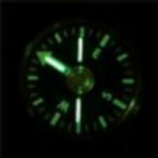 CAMMENGA TRITIUM WRIST SURVIVAL COMPASS CAMPING HIKING HUNTING NIGHT GLOW NEW