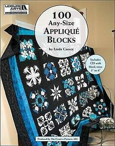 📕 Quilting Applique Book - 100 Any Size Applique Blocks