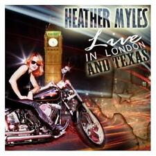 Heather Myles Live In London And Texas 2-CD NEW SEALED 2010 Country