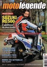 MOTO LEGENDE 157 SUZUKI RG 500 Gamma KAWASAKI KZ 750 YAMAHA XS 400 MORINI FATH