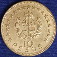 URUGUAY 10 PESOS 1965 #1270