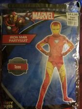 Iron Man HALLOWEEN COSTUME Party Suit Marvel Bodysuit Teen Medium up to 5'