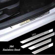 Stainless Door sill scuff plate Guard Trim For VW GOLF 4 6 MK6 MK4 09-2011 MK4