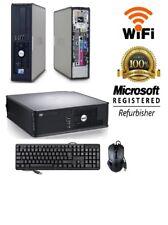 Dell OptiPlex SFF or DT (Windows 10 Home Dual Core 8GB DVD 90 DAY WARRANTY) PC