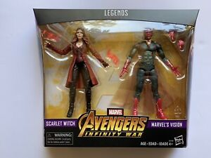 Marvel Legends Avengers: Infinity War - Scarlet Witch and Vision 2-Pack -New!