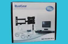 "QualGear Universal Ultra Slim Low Profile Articulating Wall Mounting Kit 23-42"""