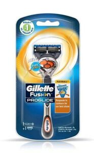 Gillette Fusion ProGlide Flexball Handle and Blade- Fits All Fusion Blades
