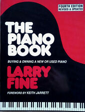 PIANO BOOK / BUYING & OWNING A NEW OR USED PIANO - FORWARD BY KEITH JARRETT - PB